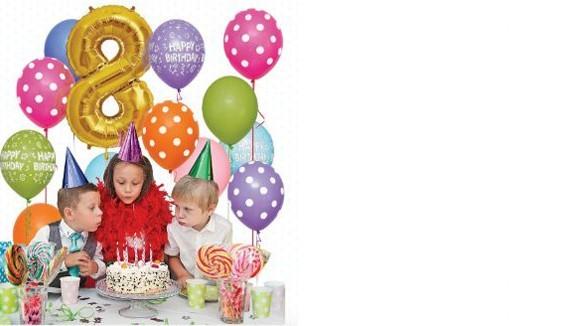 Kit ballons anniversaires décoration originale