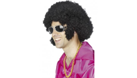 Perruques disco - années 70, afro, lamée