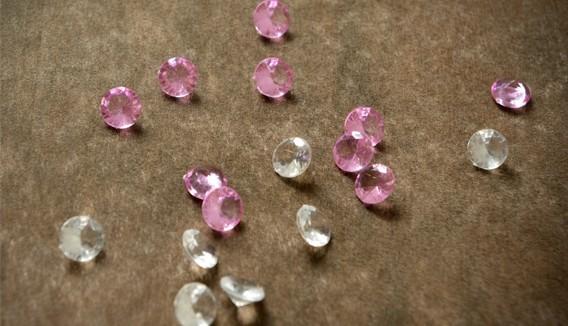 Perles de pluie diamants déco de mariage