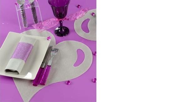 Set de table et accessoires déco de mariage