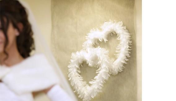 Plumes,Décos plumes déco de mariage