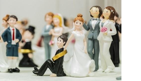 Figures pour pièce montée de mariage pas cher | Fête en folie