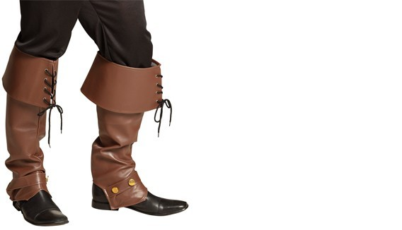 Bottes pirate, chaussures disco