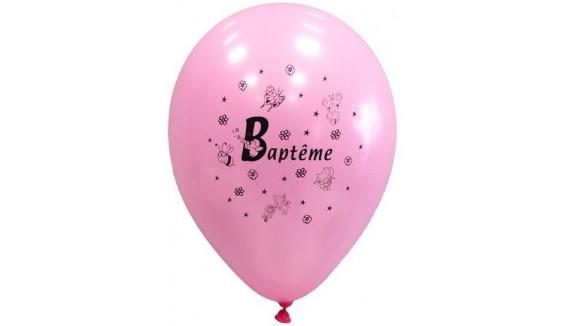 Ballons thème Baptème