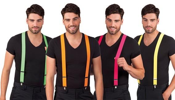Bretelles cravates et ceinture de déguisement