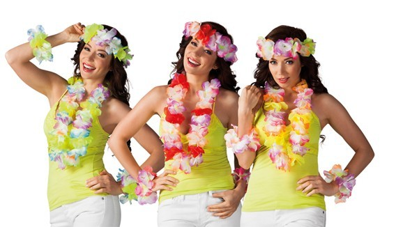 Accessoires déguisement Hawaï