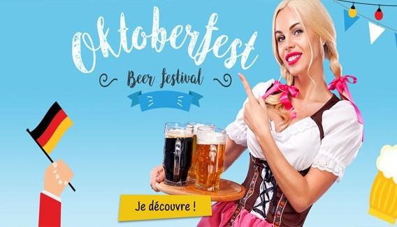 Oktoberfest fête de la bière
