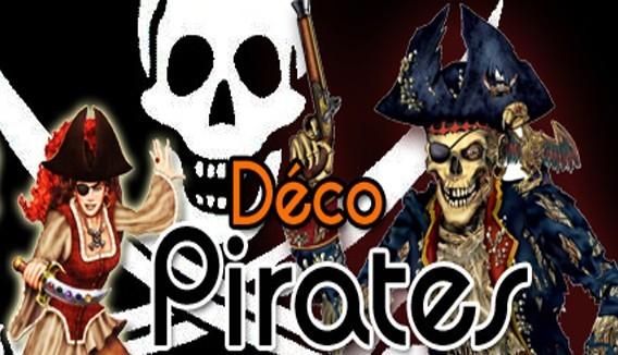 """Déguisement, Décoration & Accessoire """"Pirates"""" : Large Sélection pas chers"""