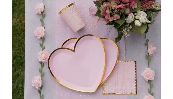 Décoration thème rose gold