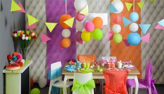 Décoration de fête Garden Party
