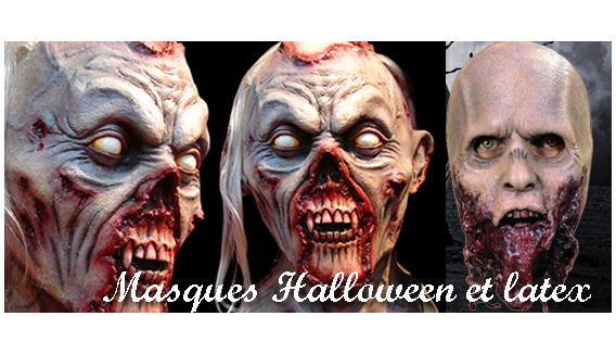 Masques Halloween déguisement