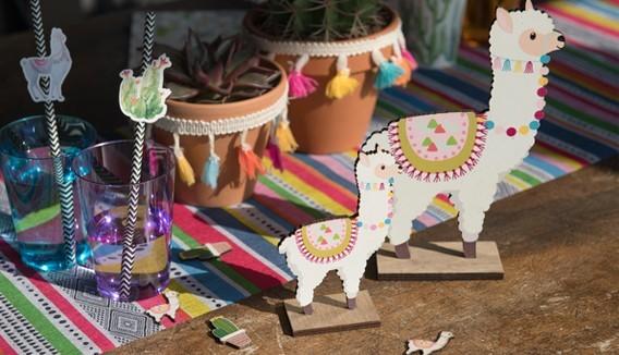 Lama Party - Décoration à thème