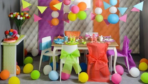 Ballons unis à la couleur - décoration ballons