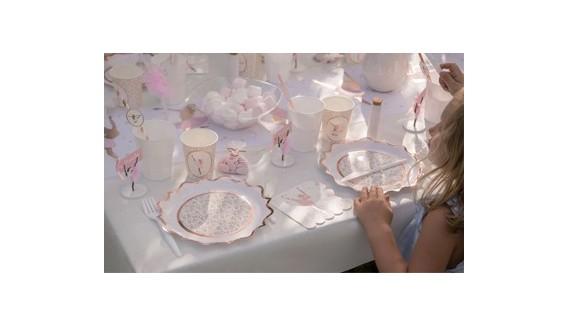 Décoration de table thème ballerine