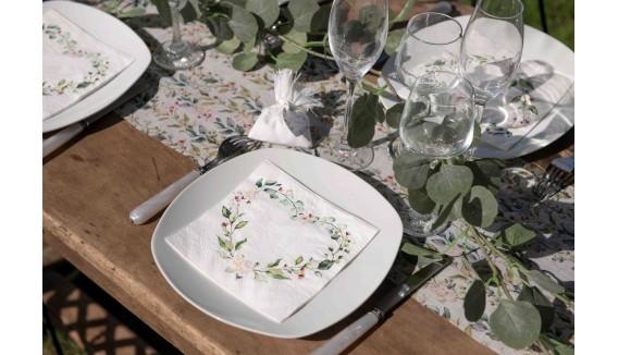 Décoration mariage végétal