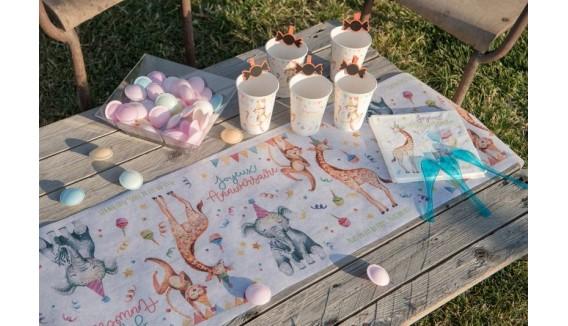 Décoration anniversaire pour enfant  thème les animaux