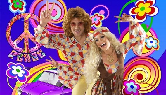 Déguisements adulte homme/femme  années 70-80, disco, hippie | Fête en folie