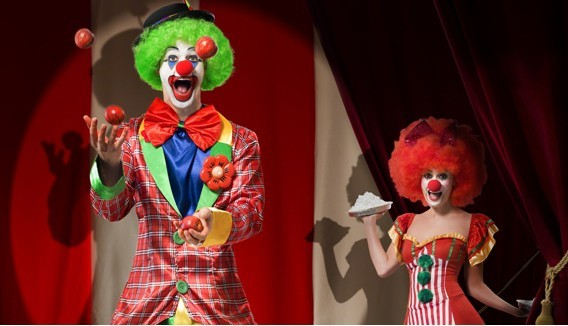Déguisement Clown cirque