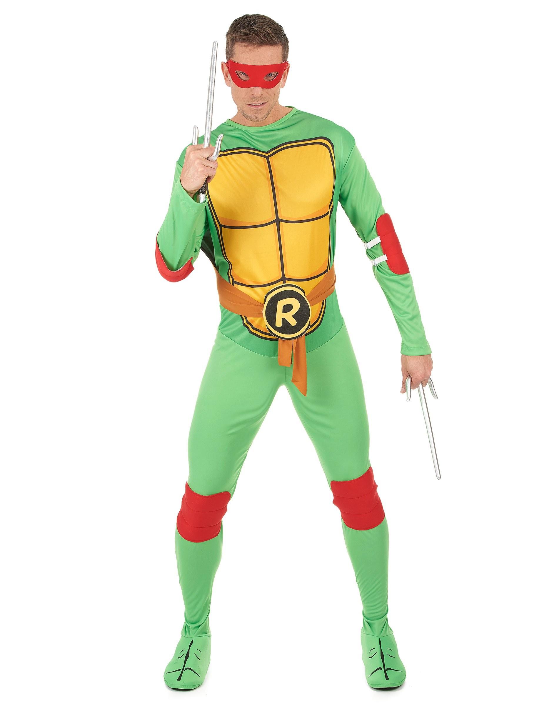 Déguisement Tortue ninja Raphael adulte  Fête en folie 99af34155131